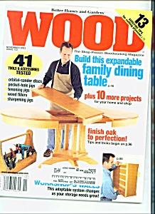 Wood Magazine -  Novembver 2003 (Image1)