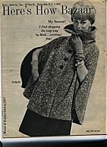 Here's How Bazaar Catalog - 1965