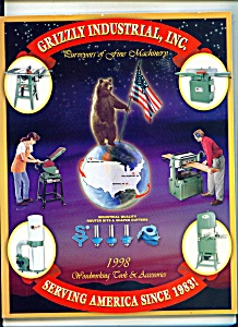 Grizzly industrial, Inc. catalog 1998 (Image1)