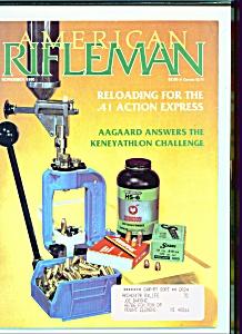 American Rifleman - November 1990 (Image1)