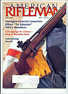 American Rifleman - March 1988 (Image1)