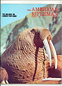 The American Rifleman - February 1973
