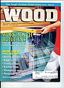Wood magazine -  February 1998 (Image1)
