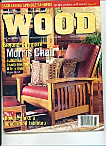 Wood magazine -  February 1999 (Image1)