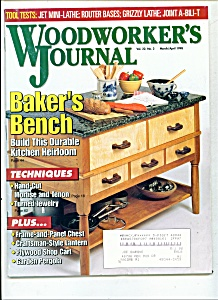 Woodworker's journal - March, April 1998 (Image1)