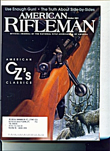 The American Rifleman - October 2001 (Image1)