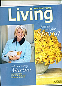 Martha Stewart - LIVING  - April 2005 (Image1)