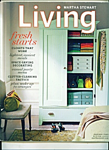 Martha Stewart LIVING - January 2005 (Image1)