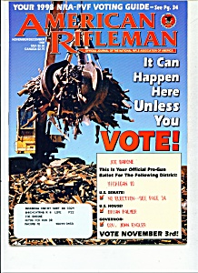 American Rifleman - November/December 1998 (Image1)