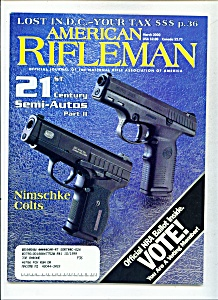 American Rifleman -  March 2000 (Image1)