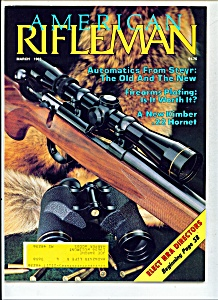 American Rifleman -  March 1983 (Image1)