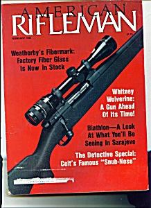 American Rifleman -  February 1984 - (Image1)