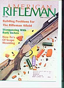American Rifleman-  July 1990 (Image1)