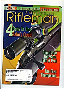 American Rifleman -  February 2000 (Image1)
