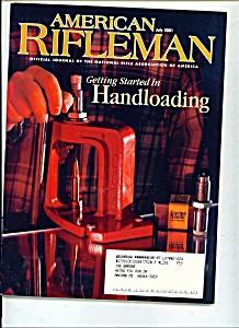 American Rifleman -  July 2001 (Image1)