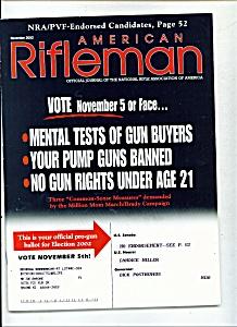 American Rifleman -  November 2002 (Image1)
