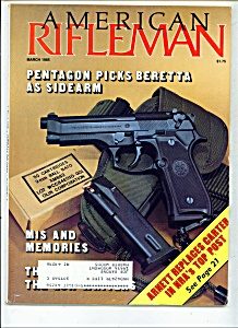 American Rifleman - March 1985 (Image1)