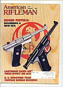 American Rifleman -  January 1982 (Image1)