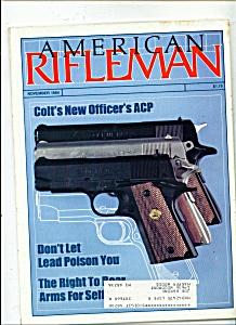 American Rifleman -  November 1984 (Image1)