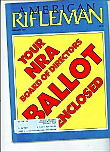 American Rifleman -  February 1985 (Image1)