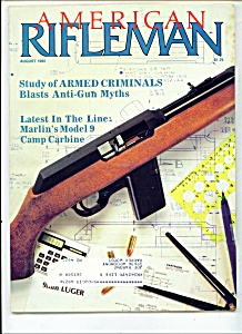 American Rifleman - August 1985 (Image1)