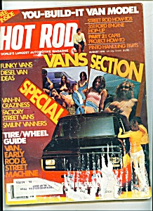 Hot Rod Magzine - August 1976