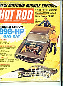 Hot Rod Magazine - January 1972 (Image1)