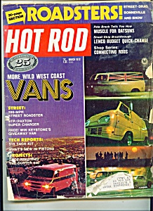 Hot Rod magazine - March 1972 (Image1)