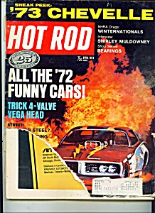 Hot Rod Magazine - April 1972
