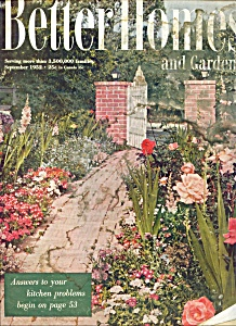 Better Homes & Gardens -  September 1952 (Image1)