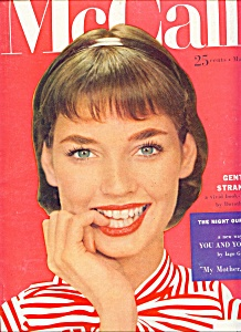 McCall's Magazine - March 1955 DOLORES HAWKINS (Image1)