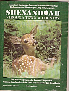 Virginia town & country-Shenandoah -March-April 1983 (Image1)