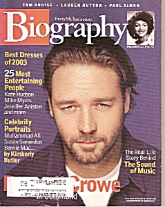 Biography magazine -  Dec. 2003 (Image1)