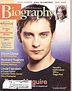 Biography magazine - August 2003 (Image1)