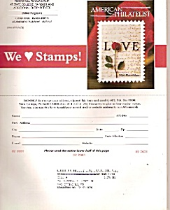 American Philatelic magazine -  February 2001 (Image1)
