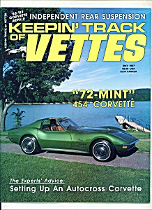 Keepin' track of Vettes magazine- May 1987 (Image1)