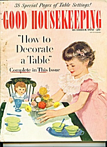 Good housekeeping october 1951 good housekeeping 1950 for Good house magazine