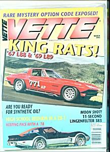 Vette King rats magazine -  Marcxh 1991 (Image1)