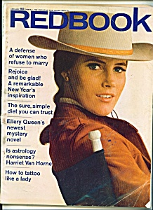 Redbook magazine -  January 1968 (Image1)