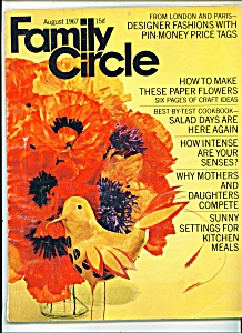 Family Circle -  August 1967 (Image1)