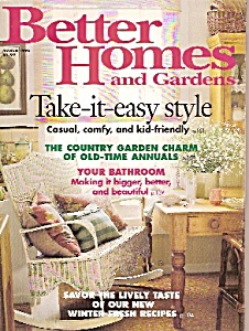Better Homes and Gardens=-  March  1996 (Image1)