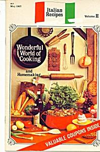 Italian Recipes by Ruth Bateman- May 1967 (Image1)