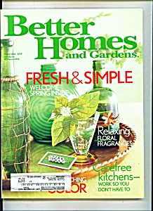 Better Homes and gardens -  March 2004 (Image1)