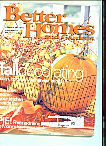 Better Homes and Gardens - October 2001 (Image1)
