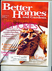 Better Homes and Gardens -  November 2002 (Image1)