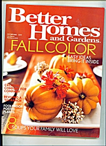 Better Homes and Gardens -  October 2003 (Image1)
