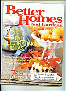 Better Homes and Gardens -   October 2004 (Image1)