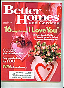 Better Homes and Gardens - February 2005 (Image1)
