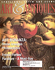 ART  &  ANTIQUES  magazine -  February 2000 (Image1)