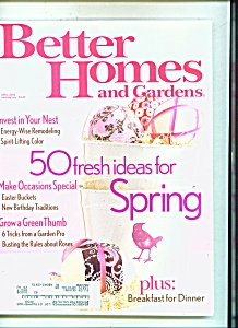 Better Homes and Gardens - April 2006 (Image1)